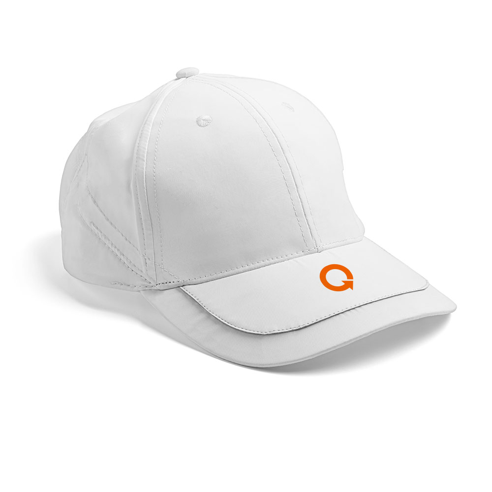 smart logo design on baseball cap for new york city new jersey solar company quixotic